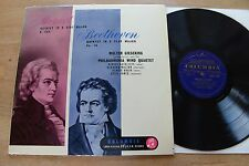 Bethoven Mozart GIESEKING Philharmonia Wind LP COLUMBIA 33CX 1322