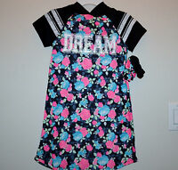 ☀dream☀ Hooded Girls So Pajamas Includes 2 Hair Bands 7 $30