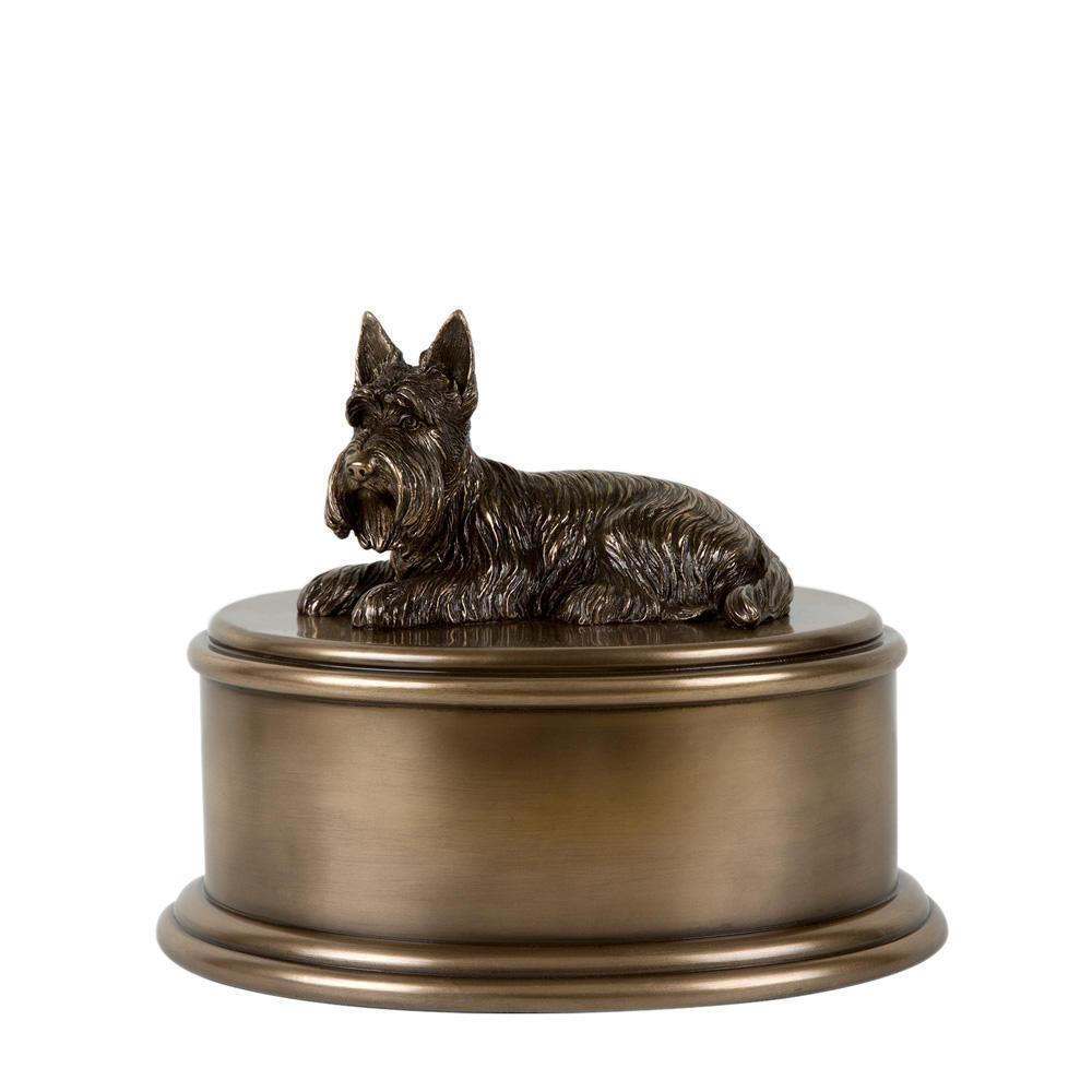 Perfect Memorials Scottish Terrier Figurine Cremation Urn