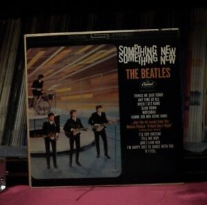 """Used 12"""" LP M- The Beatles Something New 1976 Capitol"""