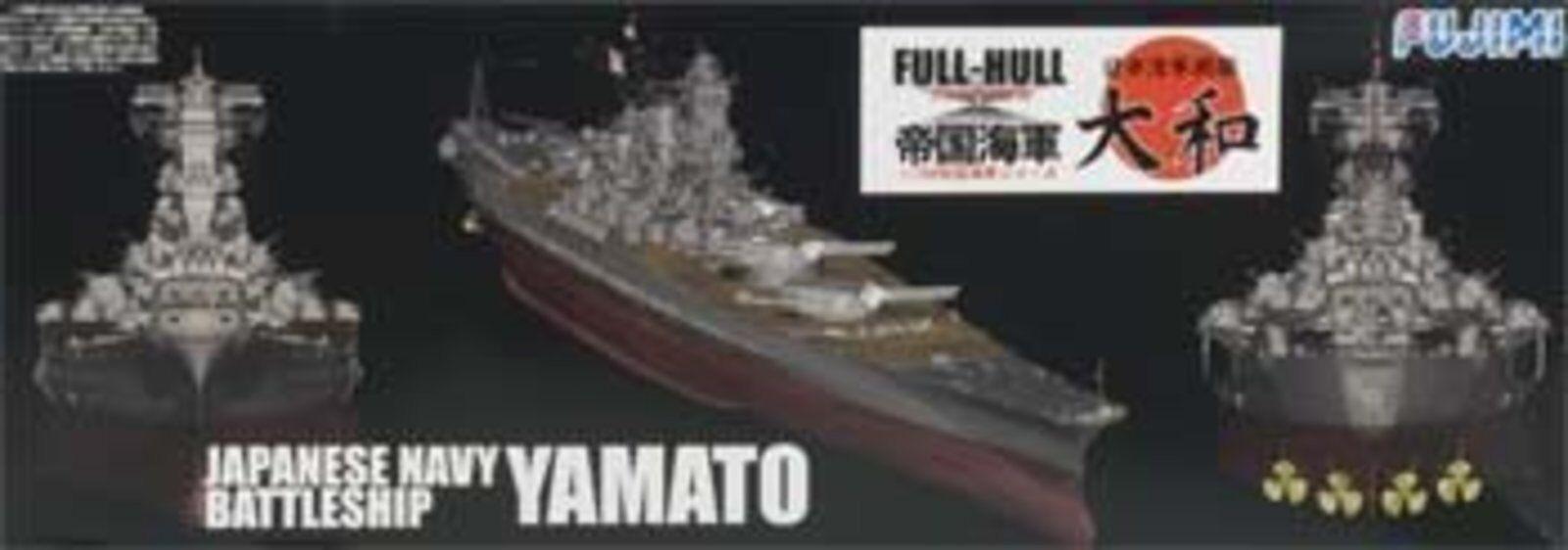 Fujimi 1 700 Scale IJN Battleship Yamato (full hull) full hull model No.1 F S