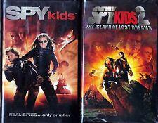 Spy Kids (VHS, 2001) & Spy Kids 2 - 2 VHS Tapes