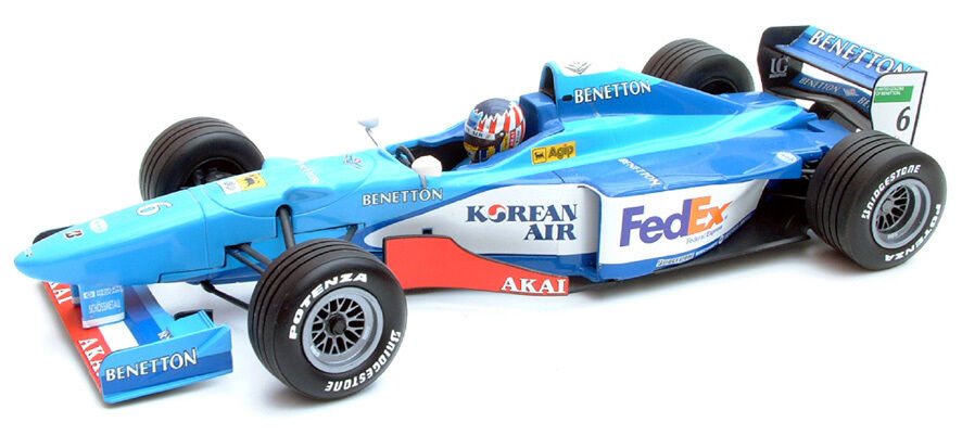 MINICHAMPS 1 18 F1 BENETTON PLAYLIFE B198 ALEXANDER WURZ 1998 ART. 180 980096