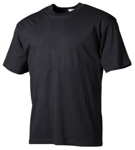 s-3xl MFH Pro Company T-shirt noir manches courtes coton 160g//m²