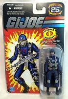 Hasbro Gi Joe 25th Anniversary Cobra Officer Enemy 3.75 Action Figure 2007