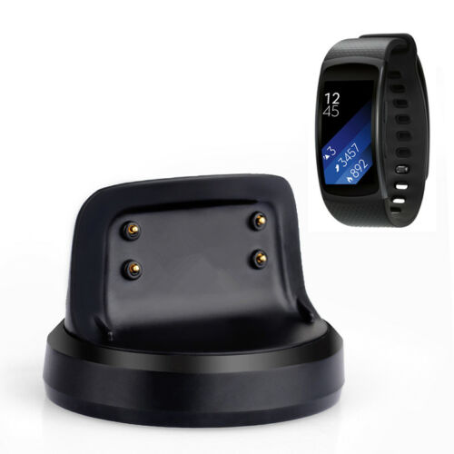 Smartwatch's Charger Dock Station w/ USB Cable For Samsung Gear Fit 2 SM-R360