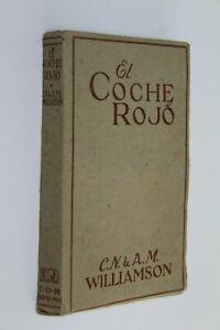 Book El Red Car Williamson, 1ª Edition 1929 IN Castilian