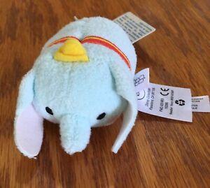 "Disney Tsum Tsum 3.5/"" Dumbo the Elephant Mini Plush New with tags"