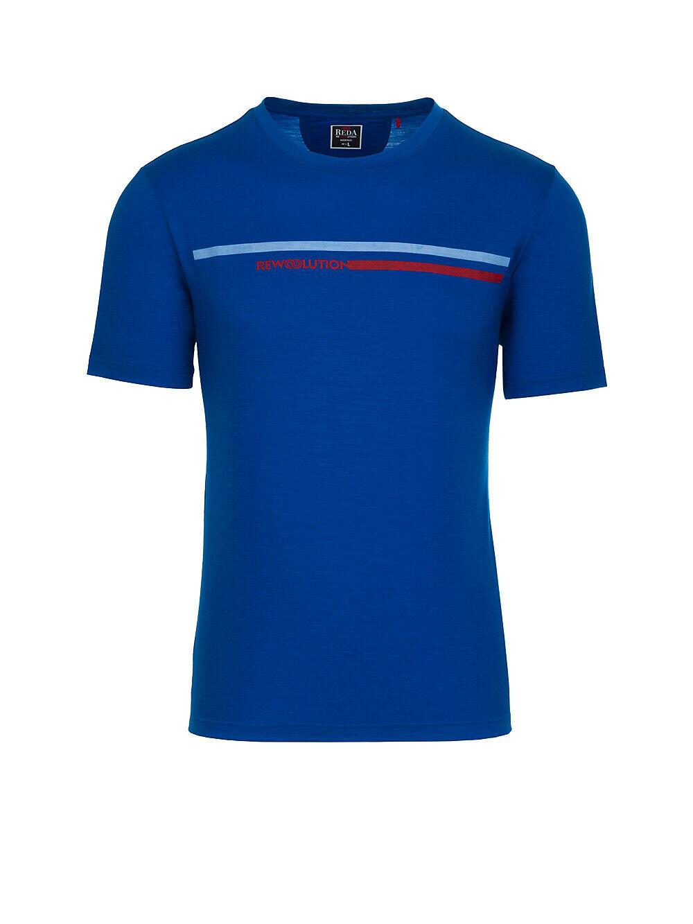 rotA Rewoolution - KORAL Man's Short Short Short Sleeve Printed T-Shirt - 140 g m² Merino  | Vorzügliche Verarbeitung  a1fe03