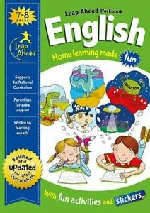 KS1-ENGLISH-Leap-ahead-Home-Learning-Workbooks-For-Kids-Age-7-8-years-New