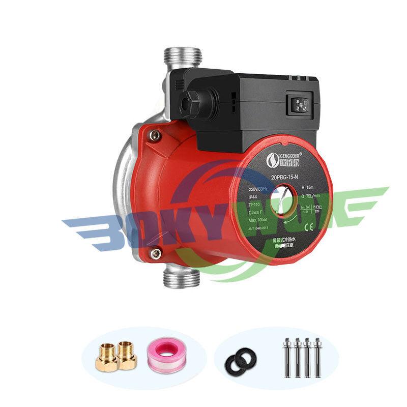 220 V 200 W 3 4  Eau Chaude POMPE DE GAVAGE kit pompe pression pour gaz Solar Heater