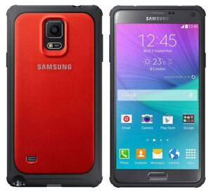 finest selection c31ce aad1f Details about GENUINE SAMSUNG GALAXY NOTE 4 RED PROTECTIVE COVER RUGGED  BUMPER SHOCKPROOF CASE