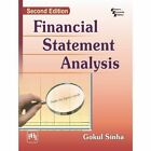Financial Statement Analysis 9788120346604 by Gokul Sinha Paperback