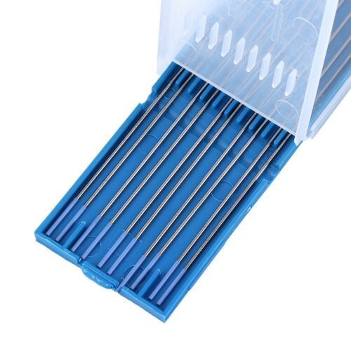 10PCS WL20 150//175mm Lanthanum Tungsten Electrode Welding Tip Blue 1//1.6//2.4mm
