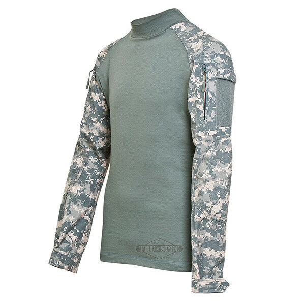 Tru-Spec TRU Combat Shirt 50/50 NYCO RS ARMY DIGITAL/FOILAGE