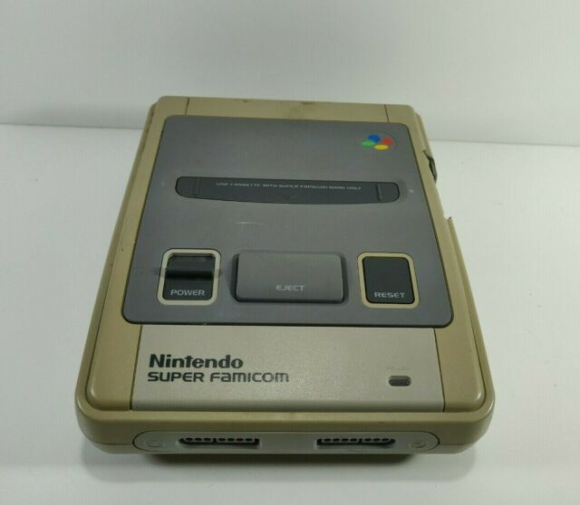 Nintendo Super Famicom Console Only For Parts or Repair Only Untested