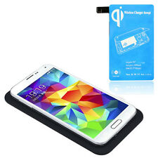Qi Wireless Ladegerät Charging Pad + Receiver Kit Für Samsung Galaxy S5 i9600 Ne