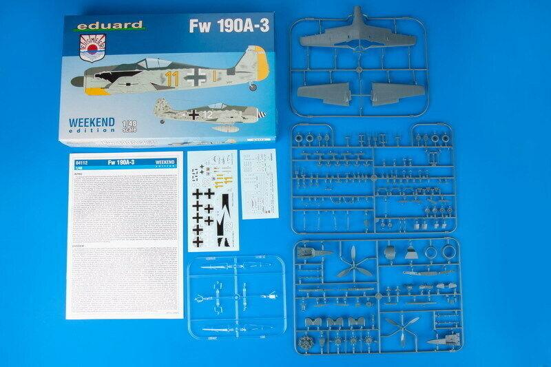 Weekend Edition Neu Eduard Plastic Kits 84112-1:48 Fw 190A-3
