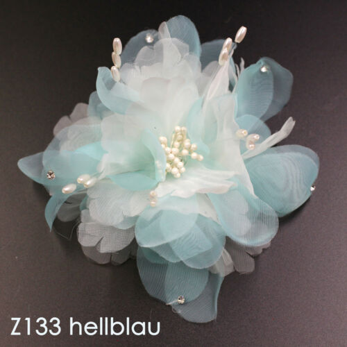 Haarblumen Fascinator Ansteckblume Haarclip Haarschmuck Lafairy Trends 2019