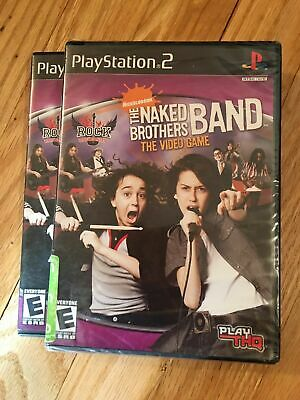 Naked Brothers Band - PlayStation 2 - Video Game - VERY