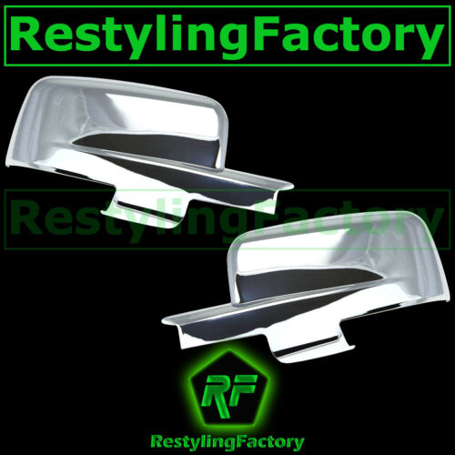09-12 Dodge Ram with Turn Light Chrome plated Full ABS Mirror Cover a Pair 2012