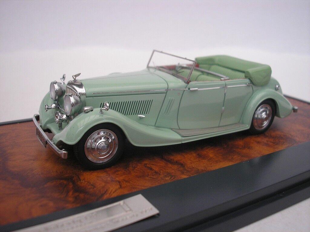 Bentley 4.25 L All-weather tourer 1937 vert 1 43 matrice 402-131 NEUF 1-408