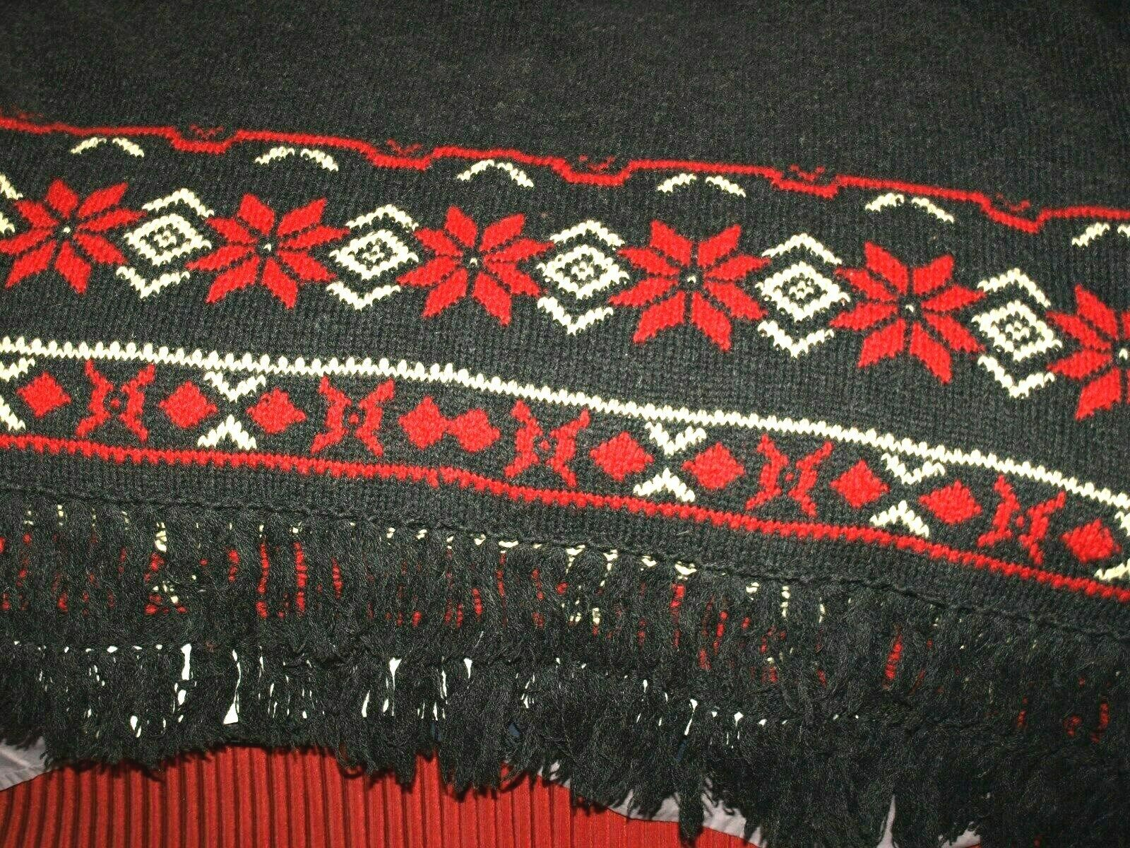 Wool blanket-sweater rap RALPH LAUREN Size 56 72