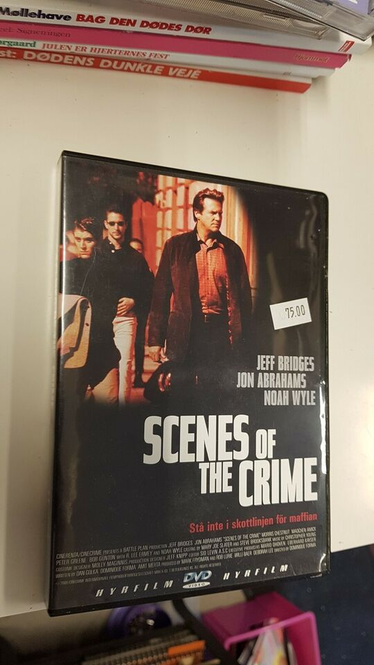 Scenes of the crime, DVD, thriller