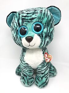 f653e6a0839 TY 2015 Justice Exclusive Tess the Tiger Beanie Boos Jumbo 17
