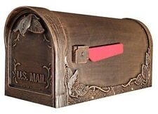 Special Lite Products SCS-1014-CP Savannah Curbside Mailbox Copper