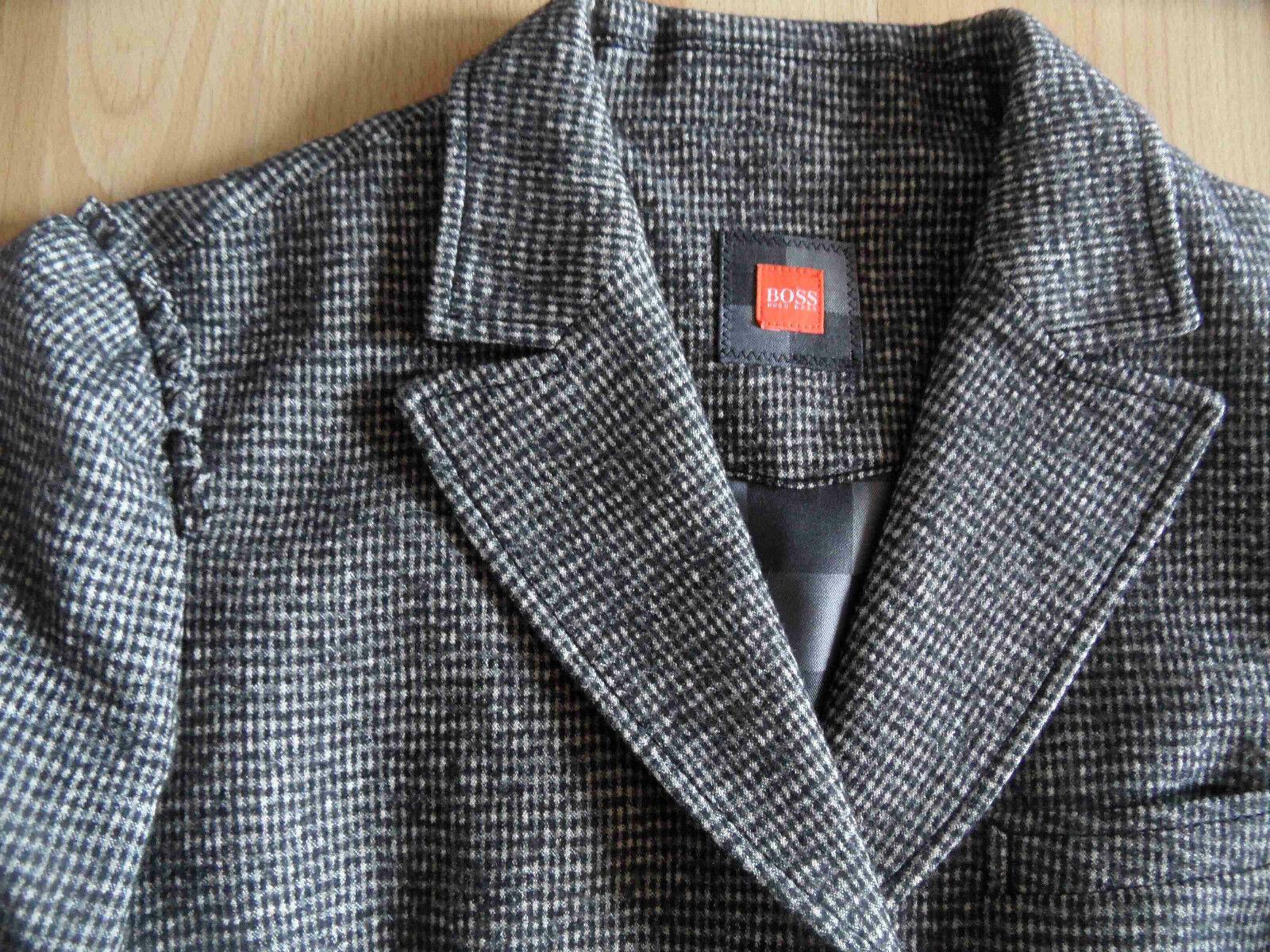 BOSS Orange Label toller karierter Woll - - - Blazer grau ORIELA Gr. 38 w. NEU GY115   ein guter Ruf in der Welt  6ed39d