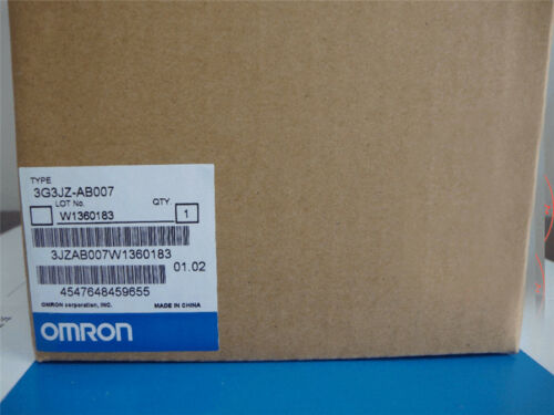 1PCS Brand NEW OMRON OMRON NEW 3G3JZ-AB007 PLC