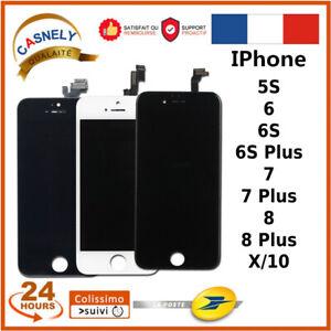 ECRAN LCD IPHONE 5S/6/6S/7/8/PLUS X NOIR/BLANC QUALITÉ AAA +++ ✅