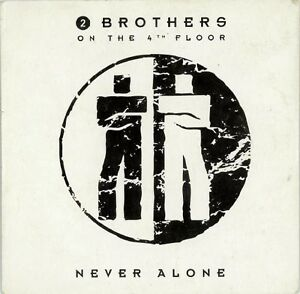 2-Brothers-On-The-4th-Floor-CD-Single-Never-Alone-Holland-EX-M