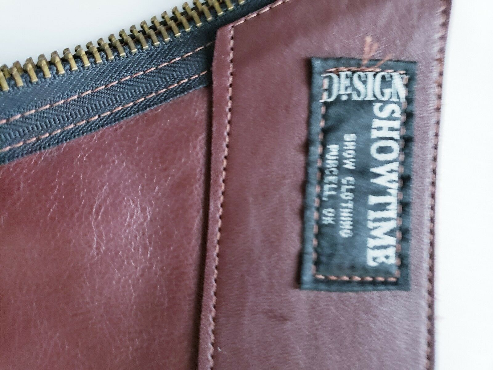 SHOWTIME SHOWTIME SHOWTIME DARK BURGUNDY CHAPS SIZE SMALL ADULT 87cc75