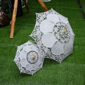 2018 Wedding Lace Parasol Umbrella Bridal Party Decor Photo Props