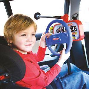 Image Is Loading Kids Car Back Seat Backseat Driver Steering Wheel