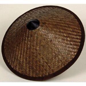 TAKEGASA-Traditional-Samurai-Travel-Bamboo-Hat-Dia-Gotoku-Paint-43cm