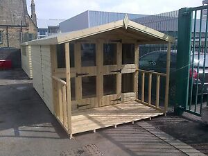 Garden Sheds 3x2 garden shed summerhouse tanalised heavy duty 14x8 13mm. 3x2 | ebay