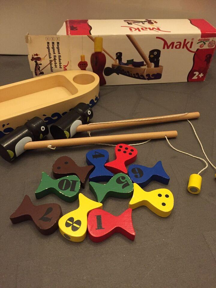 Magnetisk legetøj, Fiskestænger, Maki