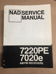 nad 7020 service manual