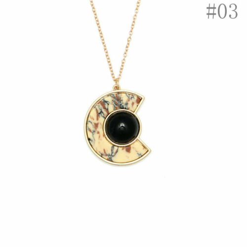 Fashion Globe Turquoise Wood Heart Hip Hop Baroque Punk Baroque Pendant Necklace