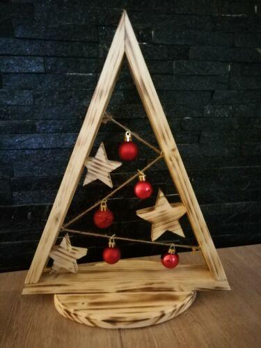 Weihnachtsbaum ,Weihnachtskugeln, Christbaum, Weihnachtsdeko, Holzdeko