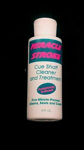 Miracle Stroke Cue Shaft Cleaner Treatment Ebay