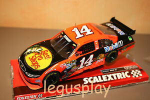"Slot car SCX Scalextric A10145S300 Chevrolet Impala SS N#14 ""Mobil1"" NASCAR"