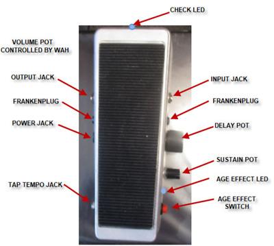 Frankenplex! Dunlop EP103 Echoplex Delay