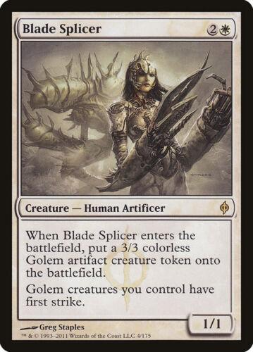 Near Mint Blade Splicer Rare MtG New Phyrexia