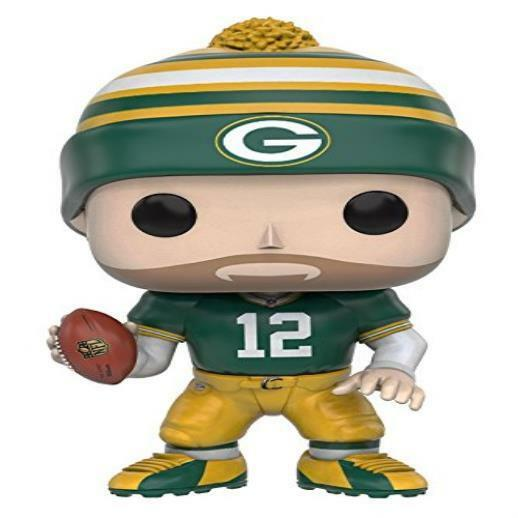 Funko Pop Nfl: Wave 3 Aaron Rodgers Action Figure Toy Play MYTODDLER New