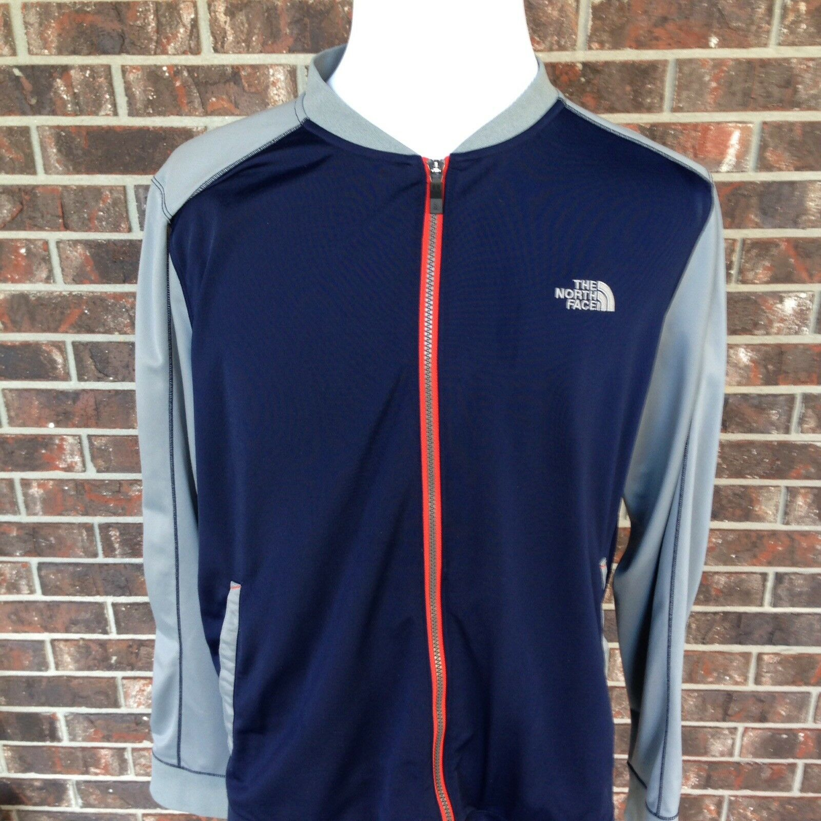 The North Face Men's XL Mountain Athletics Ampere Navy Full-zip Fleece