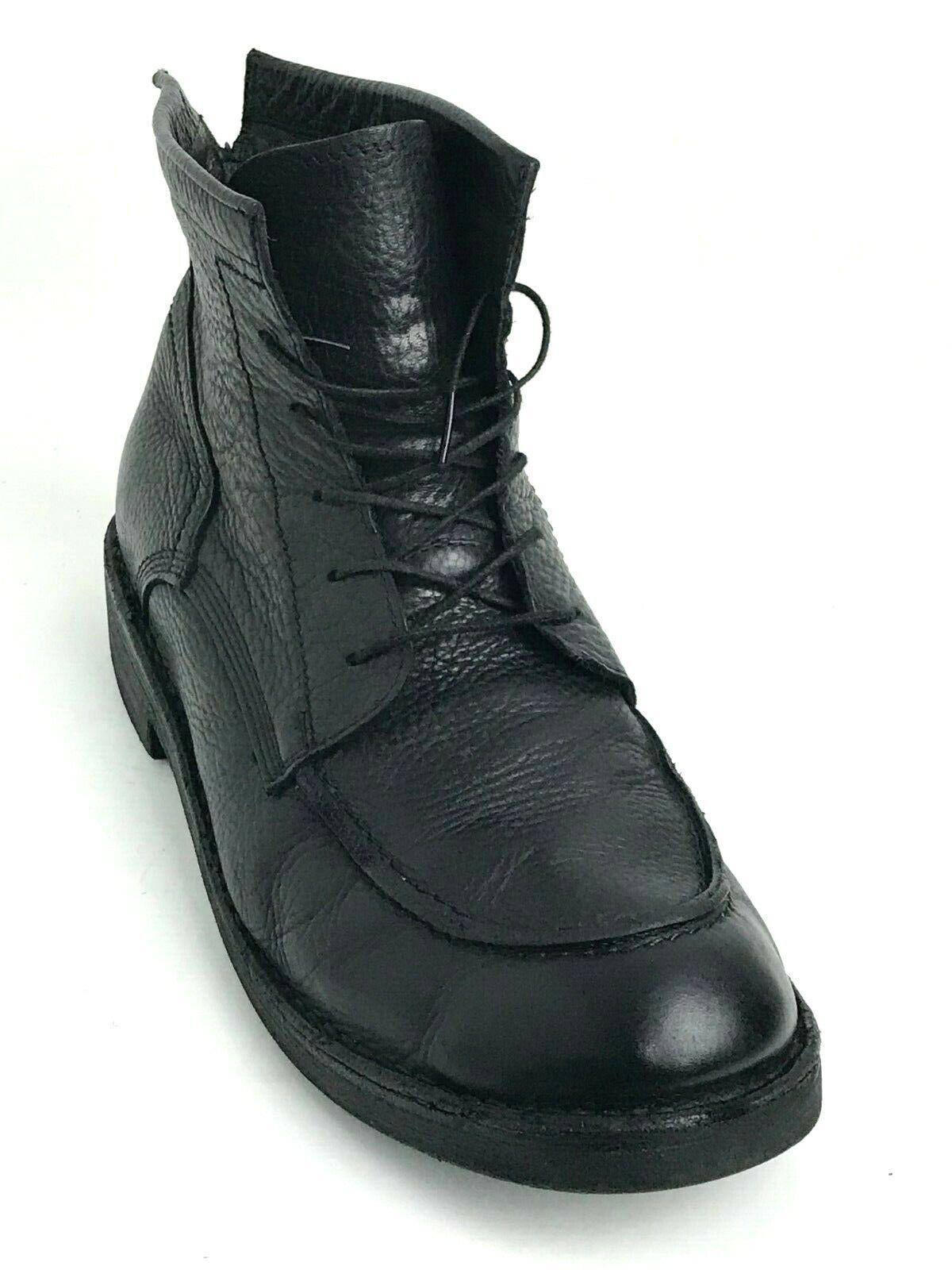 BOEMOS Hecho en Italia para Hombre botas al Tobillo Con Cordones Talla US.10 EU.43 UK.9.5